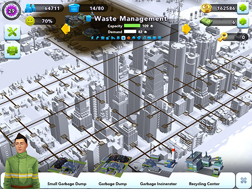 Providing services for your citizens in SimCity BuildIt